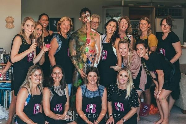 Auckland Body Painting Hen Party