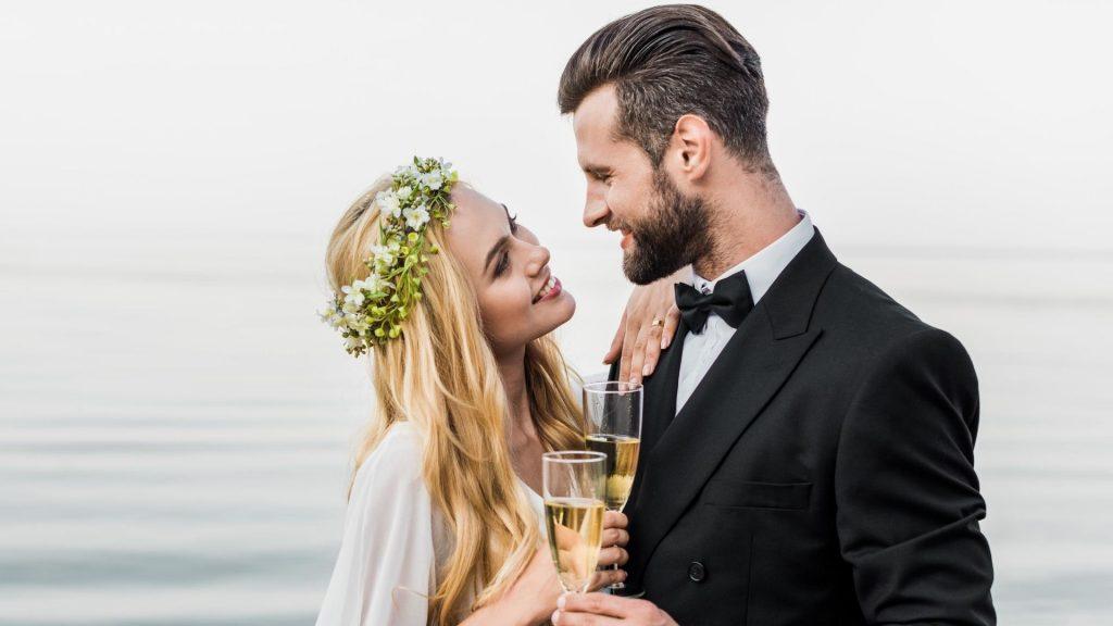 Wedding Cruise Auckland harbour