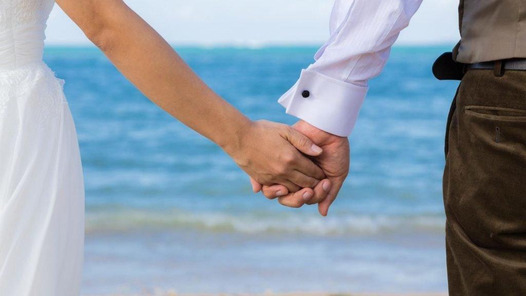 Wedding Cruise beach trip