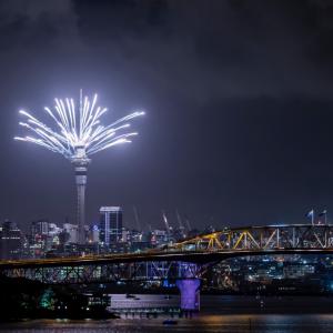 Auckland Fireworks cruise