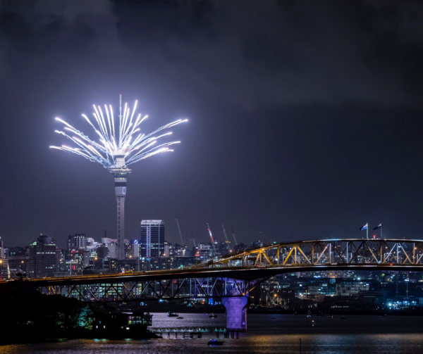 Auckland Fireworks cruise